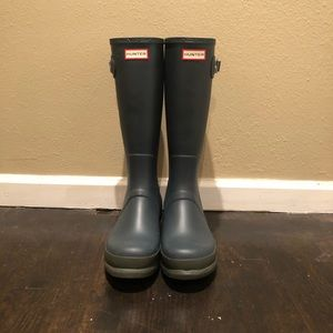 Men's Hunter Rain Boots Size 13